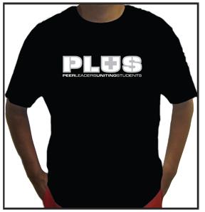 PLUS Team T-Colored -  $7.95