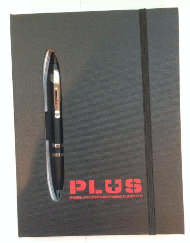 PLUS Team Notepad Journal
